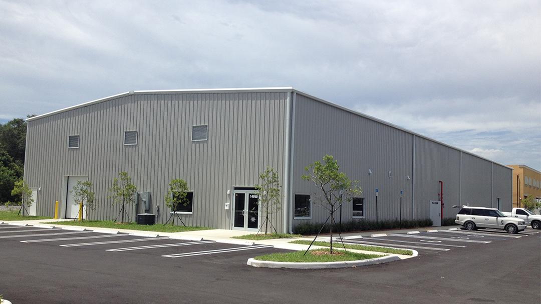 Dance Studio Warehouse Allied Steel Buildings