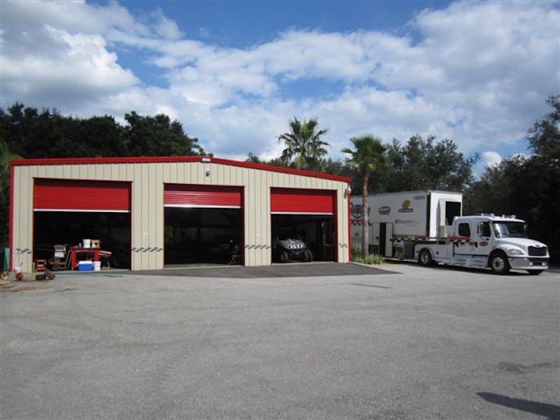 Auto Service Building : Auto repair workshop allied steel buildings